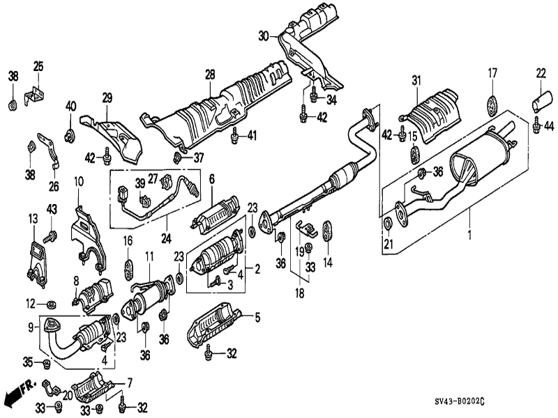 2002 honda accord parts diagram  u2022 wiring diagram for free