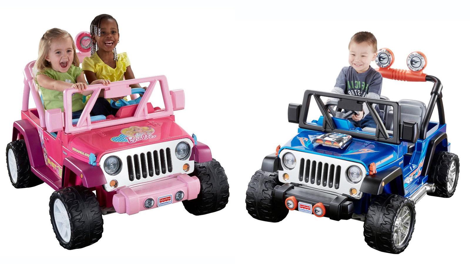 The Power Wheels Jammin' Jeep Wrangler