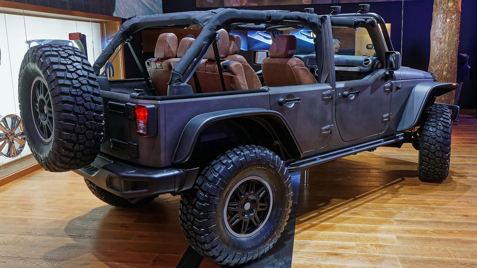 Would You Try Sharing a Jeep with Strangers?