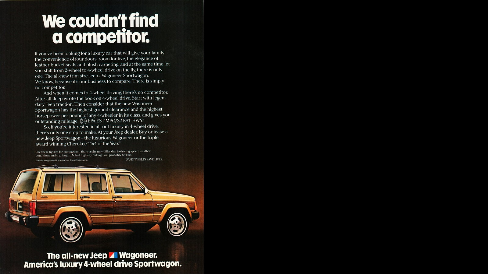 The Wagoneer has no competition