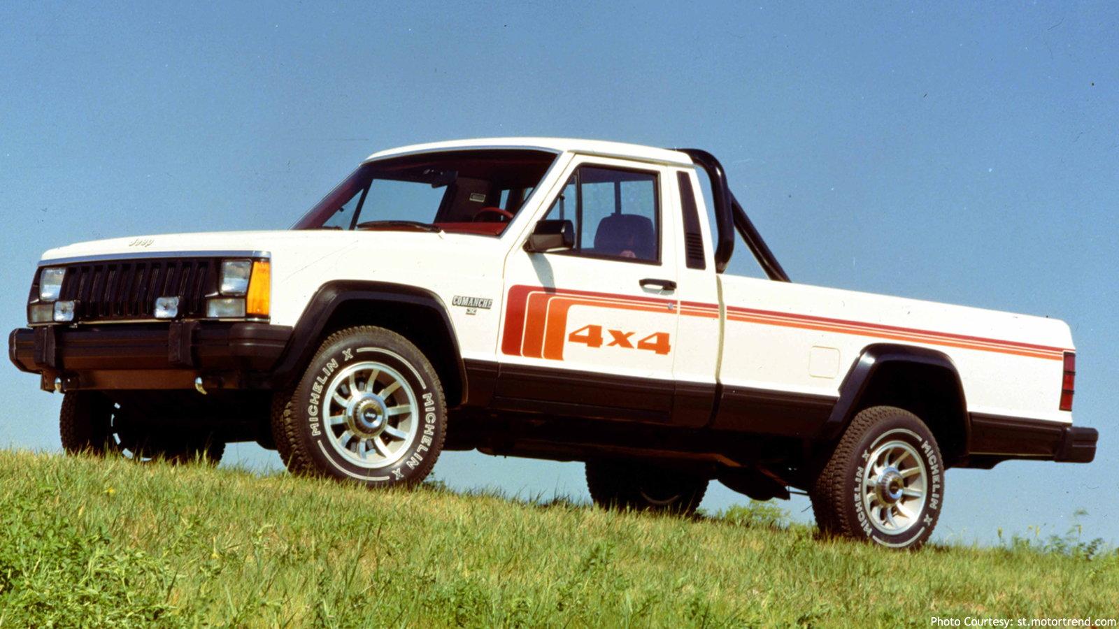 Last Jeep Pickup