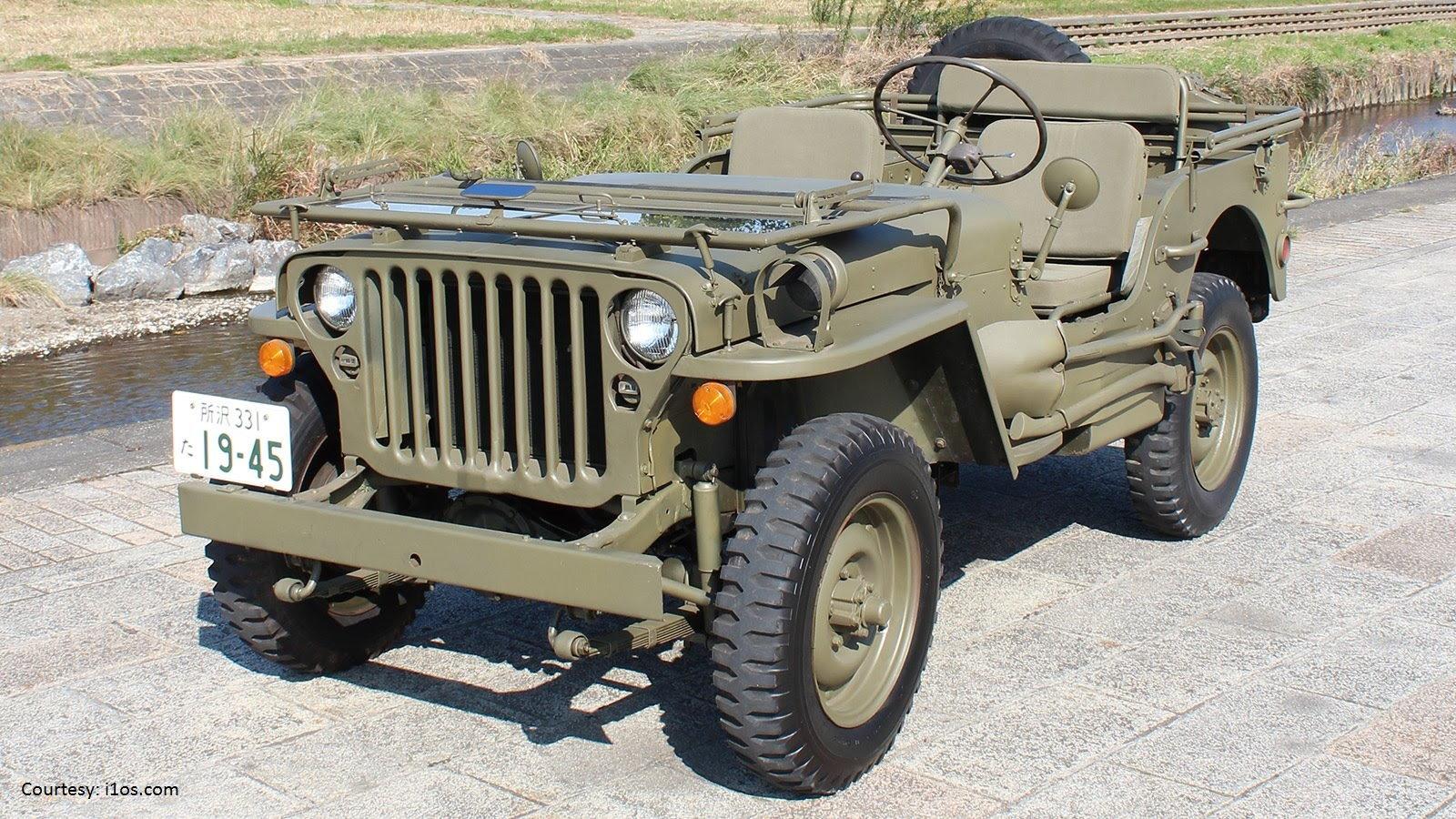 The military Jeep had an unprecedented run
