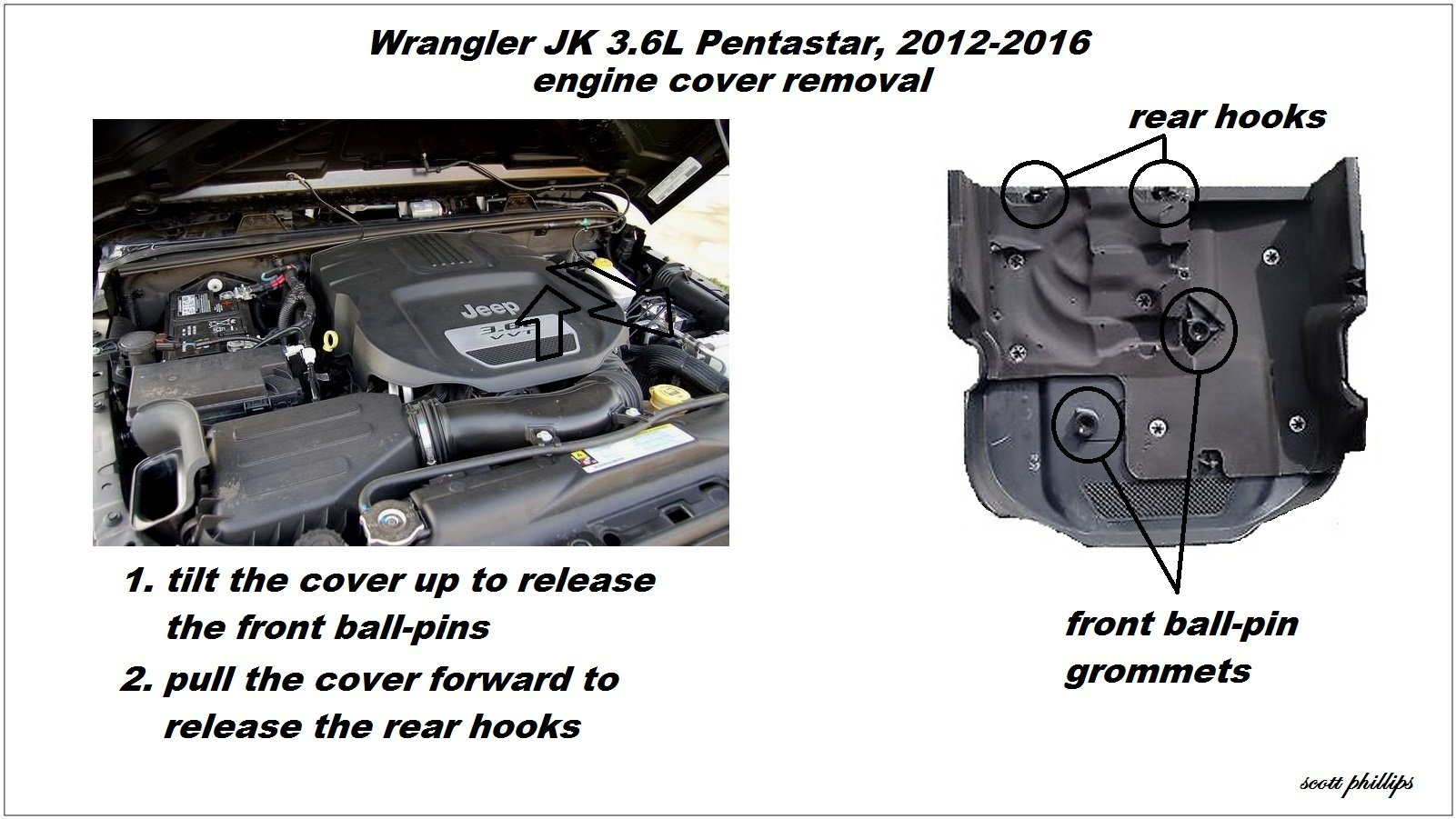 Jeep Wrangler Jk 2007 To Present How Replace Camshaft Position 2012 Engine Diagram Cover Removal