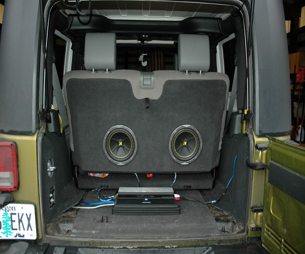 Can you hook up subs to a stock radio