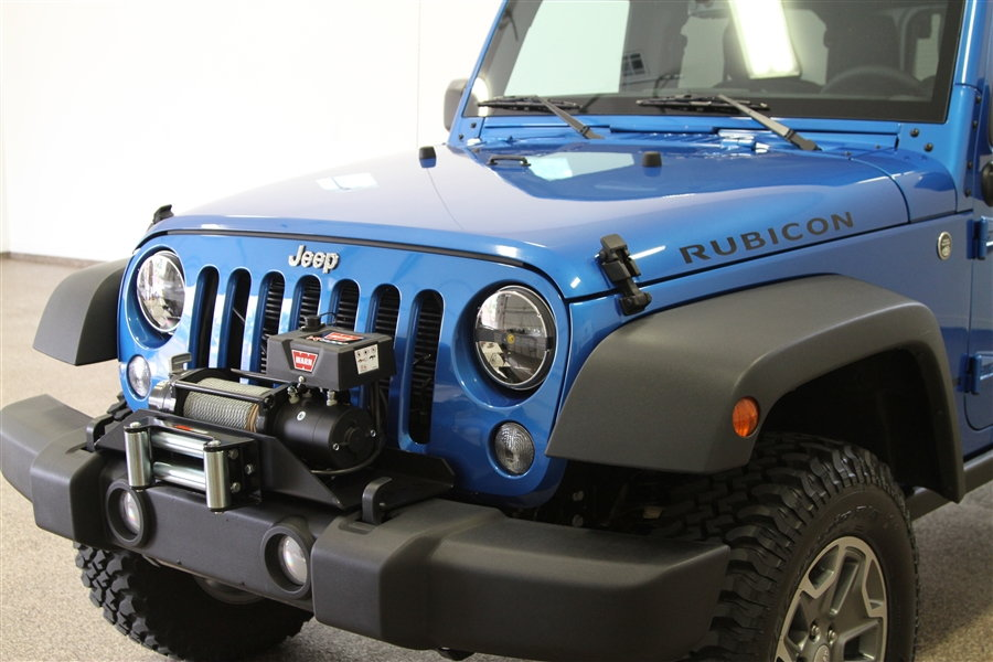 Jeep Wrangler Jk 2007 To Present How To Use Winch To