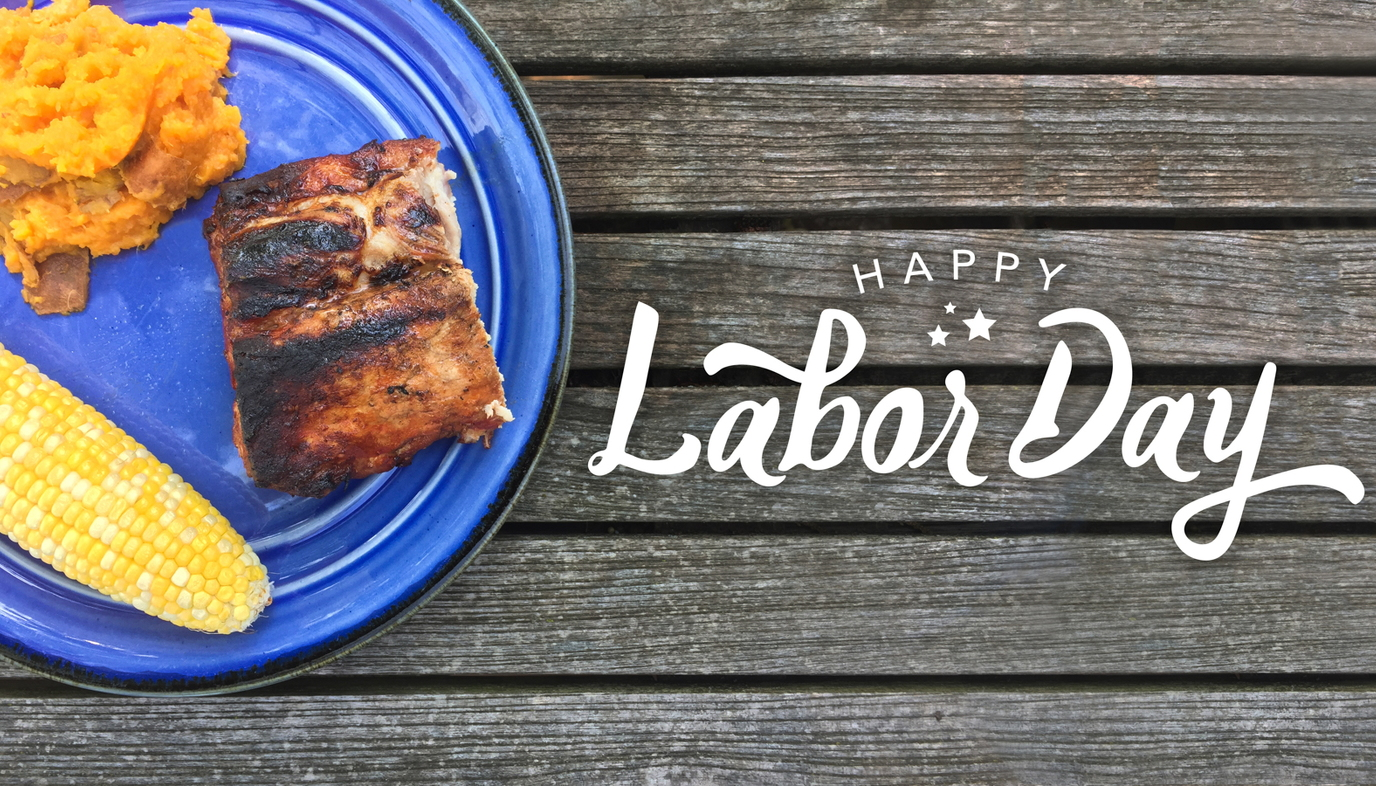 Labor day with food