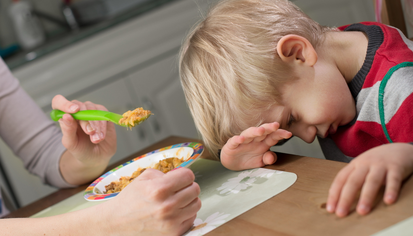 picky child refusing to eat cereal