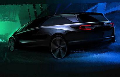 2018 Honda Odyssey teaser image