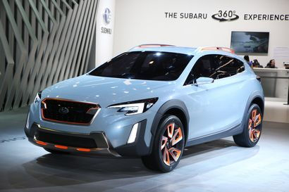 Crosstrek Concept at the 2016 Geneva Motor Show