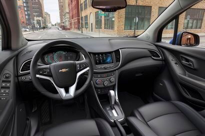 2017 Chevrolet Trax dashboard
