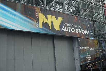 New York Auto Show banner
