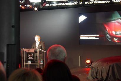 Takashi Yamanouchi at the 2014 New York Auto Show