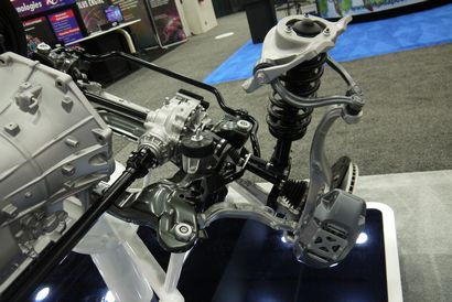 2015 Hyundai Genesis AWD system