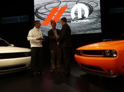 SEMA13 Chrysler press conference