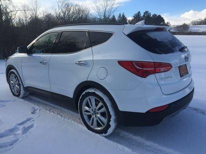 2016 Hyundai Santa Fe Sport AWD 2.0T rear 3/4 view