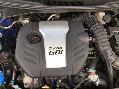 2016 Hyundai Veloster Rally Edition 1.6L Gamma GDI Turbo