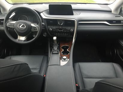 2016 Lexus RX 350 dashboard