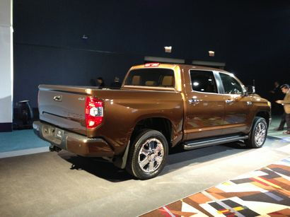 2014 1794 Edition Tundra at the Chicago Auto Show