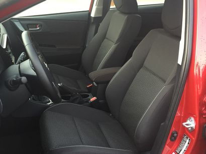 2016 Scion iM front seat detail