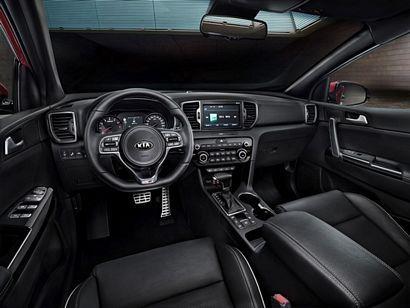 2017 Kia Sportage interior detail