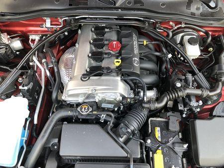 2019 Mazda MX-5 Miata Grand Touring 2.0-liter engine