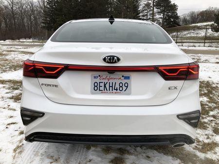 2019 Kia Forte EX exterior