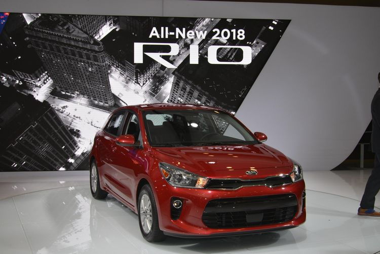 2018 Kia Rio Hatchback at the 2017 New York Auto Show