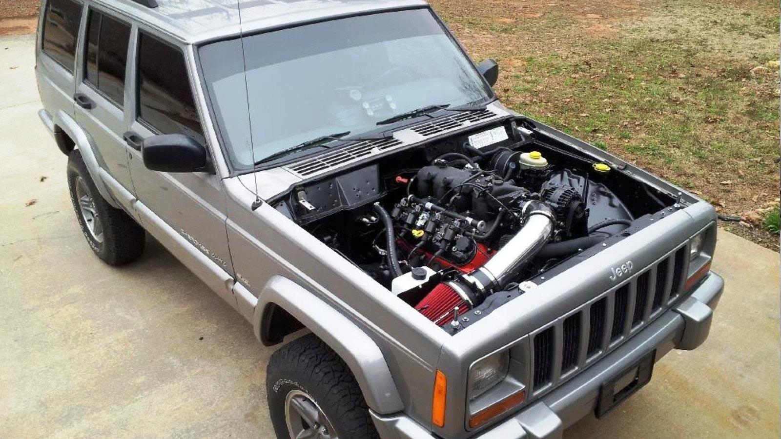 How To Ls Swap An Xj Jeep Cherokee Photos Ls1tech