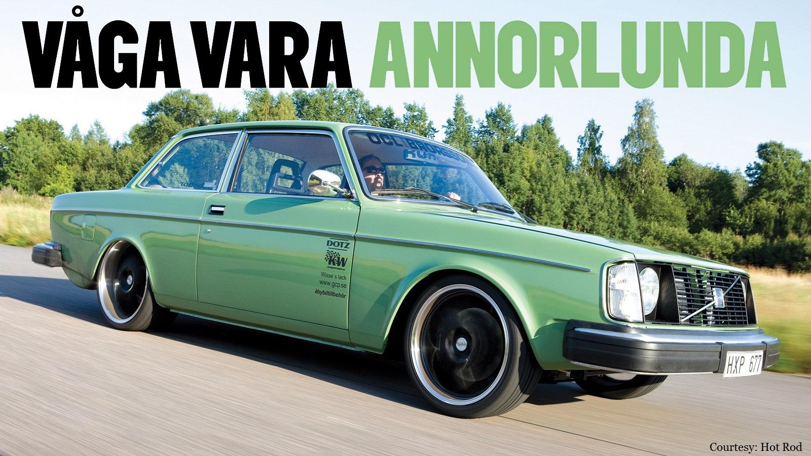 Hocky Johansson's Volvo 242