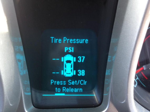 svc tire monitor system
