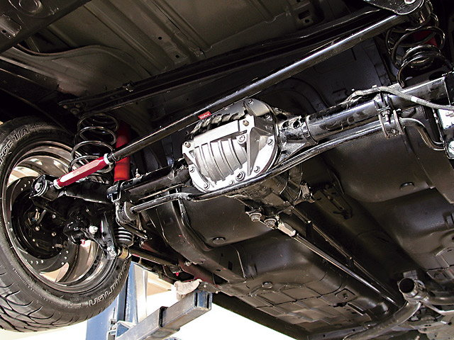 New rear differential on Camaro