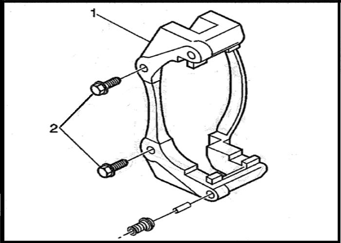 Camaro Firebird 1990 To 2002 How To Replace Brake Padscalipers