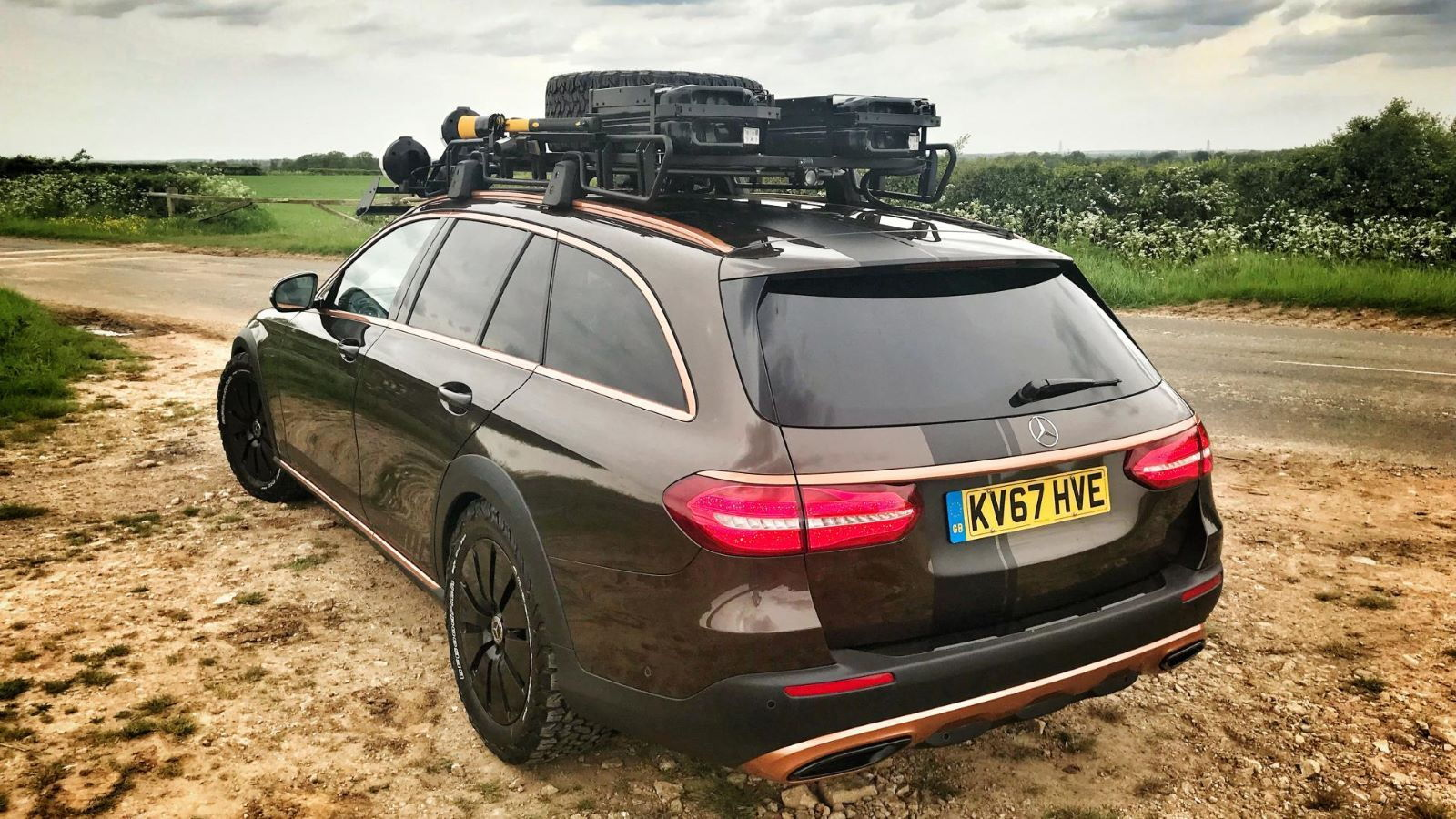 Mercedes-Benz E350d Off-Roader Known As \