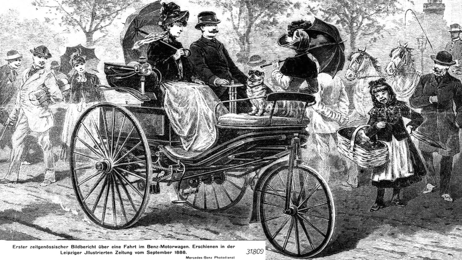 The First Viable Automobile (1886)
