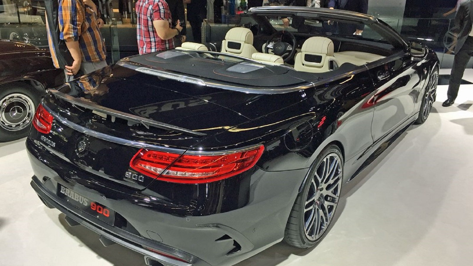 Brabus Rocket 900 Cabrio Might Rip Your Hair Out