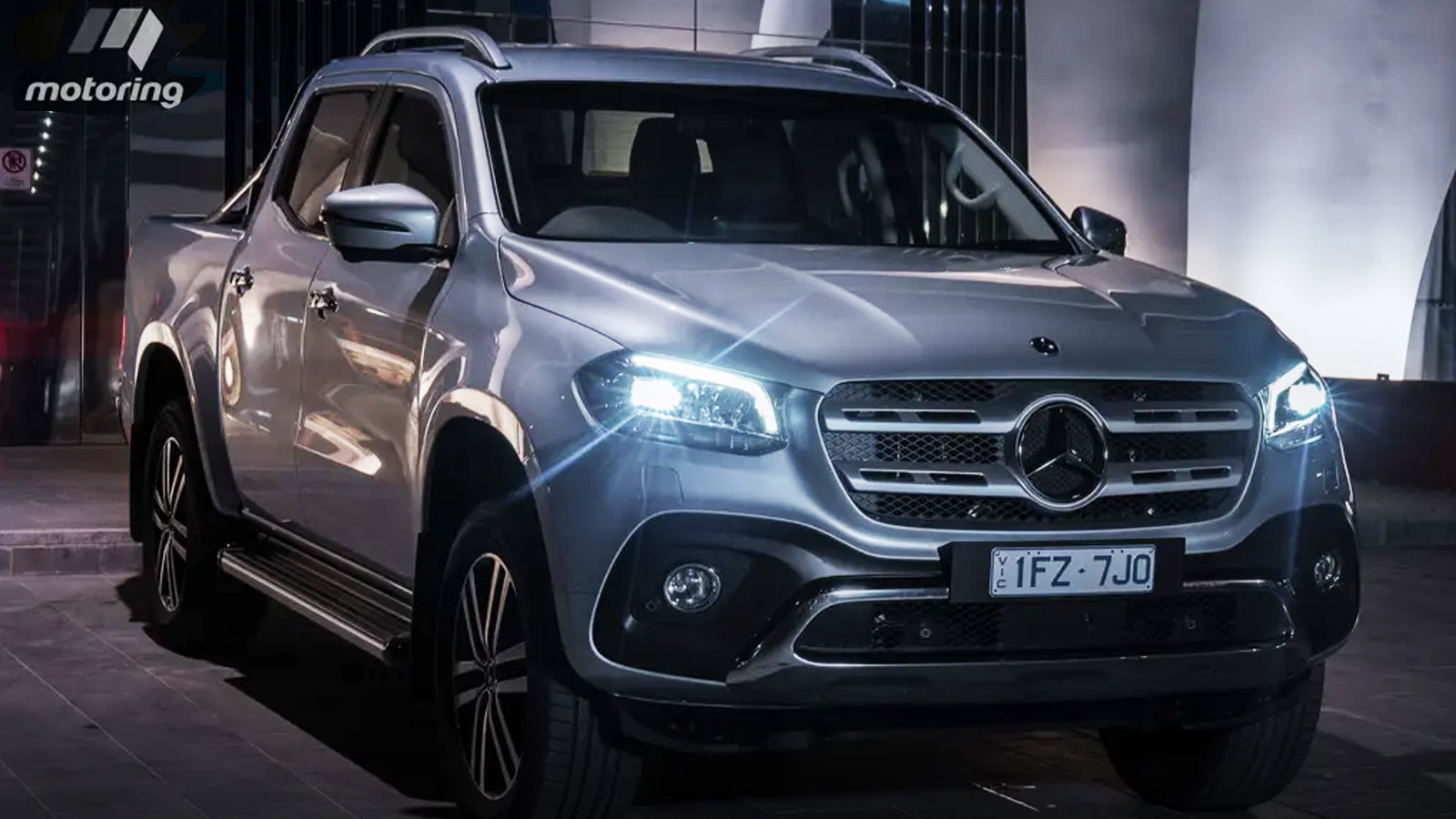 New Mercedes Pickup is at the Top in Class
