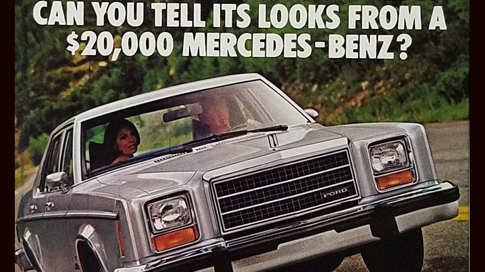 That One Time Ford Seriously Compared Granada to S-Class