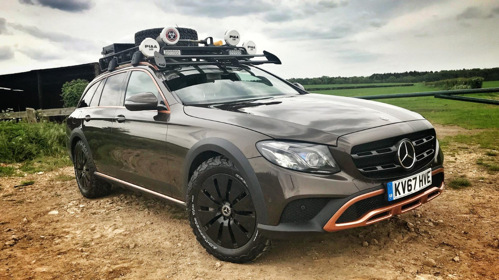 Off-Road Modded E350d Known As