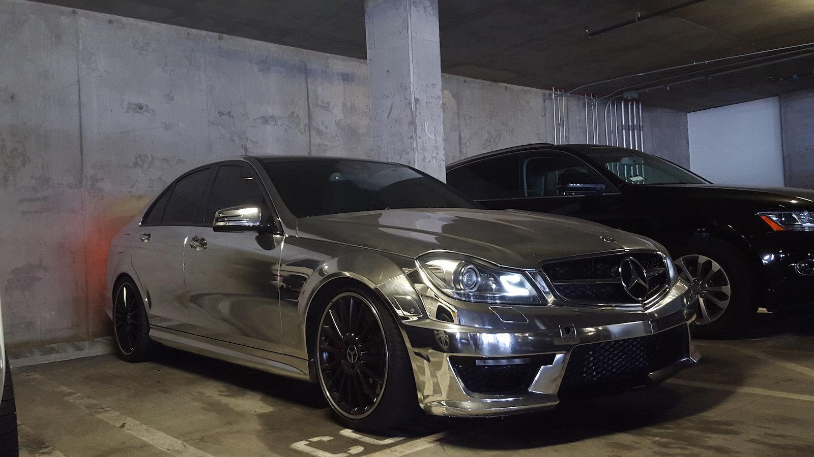 2012 Mercedes AMG C63 Black Series