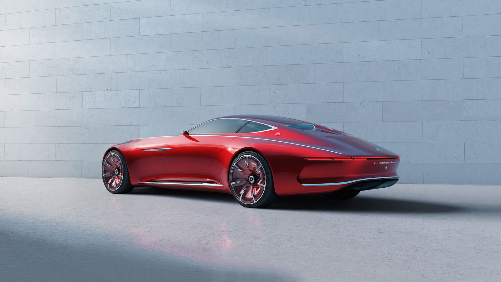 The Vision Mercedes Maybach 6 is Opulence Personified
