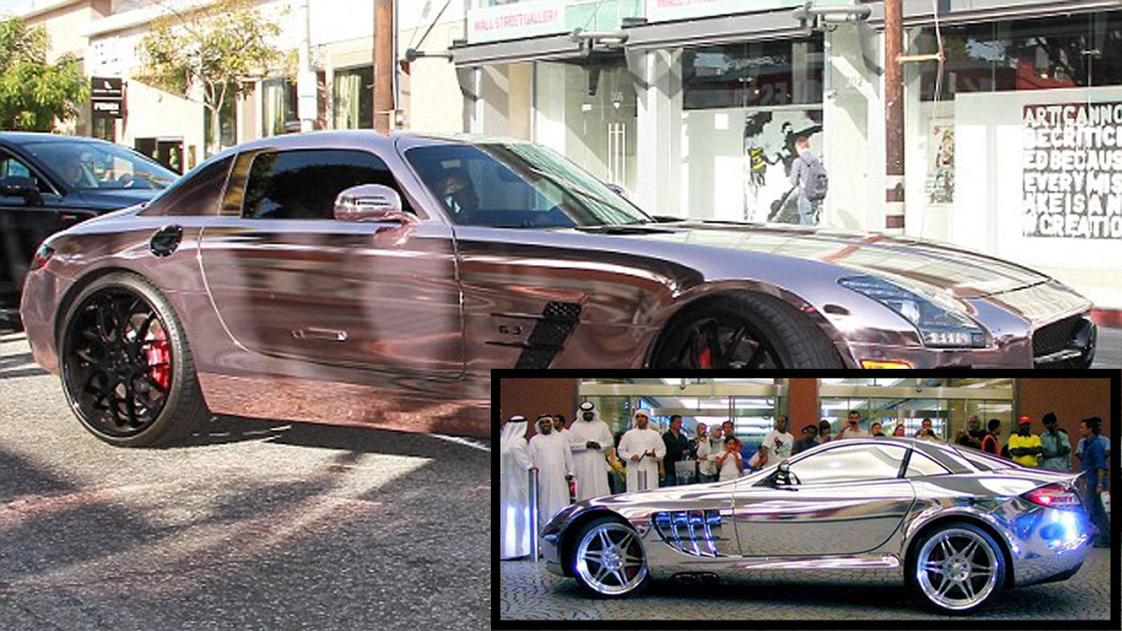 The Golden Mercedes-Benz