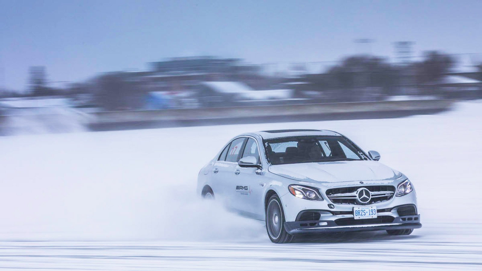 AMG Has a Winter Driving School and It's Waiting for You