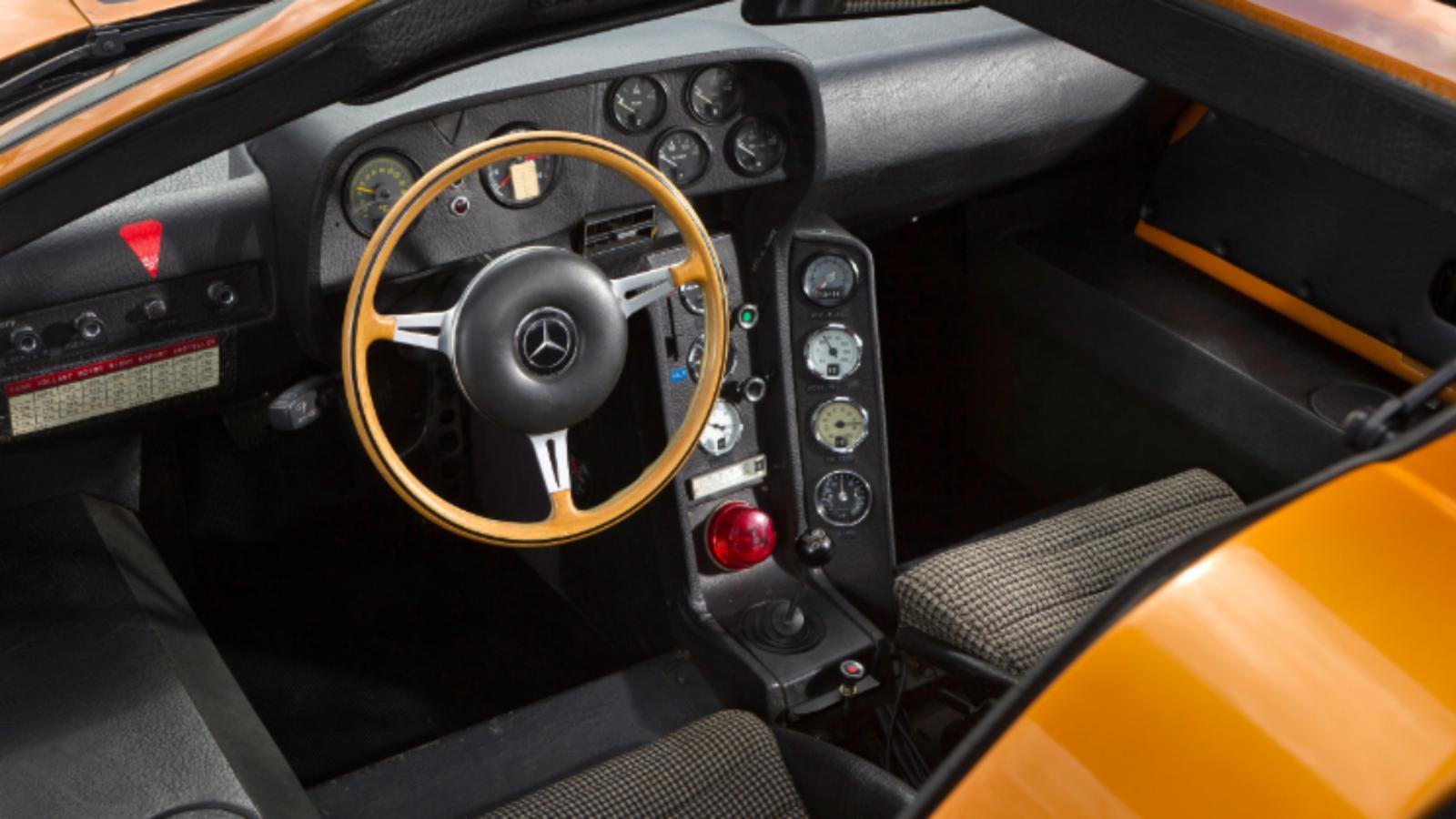 Mercedes-Benz's Original Mid-Engine Supercar Concept