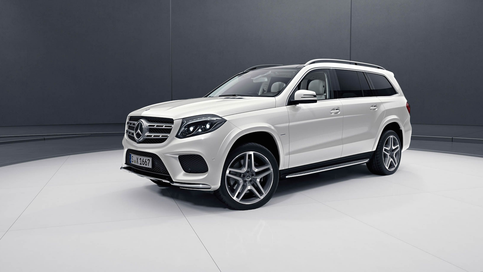 Grand Edition Elevates the Mercedes GLS-class