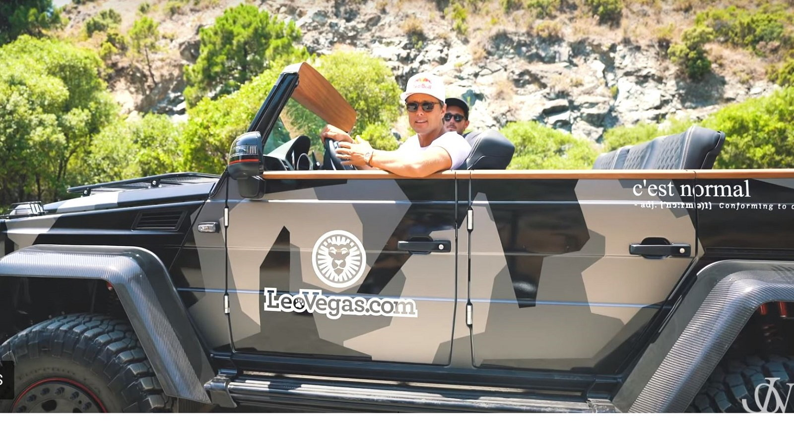 So what made Olsson decide to cut the roof off?