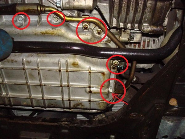 Mercedes Benz C Class W204 Why Is Car Leaking Oil Mbworld