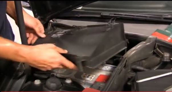 Mercedes Benz C Class W204 How To Replace Battery Mbworld