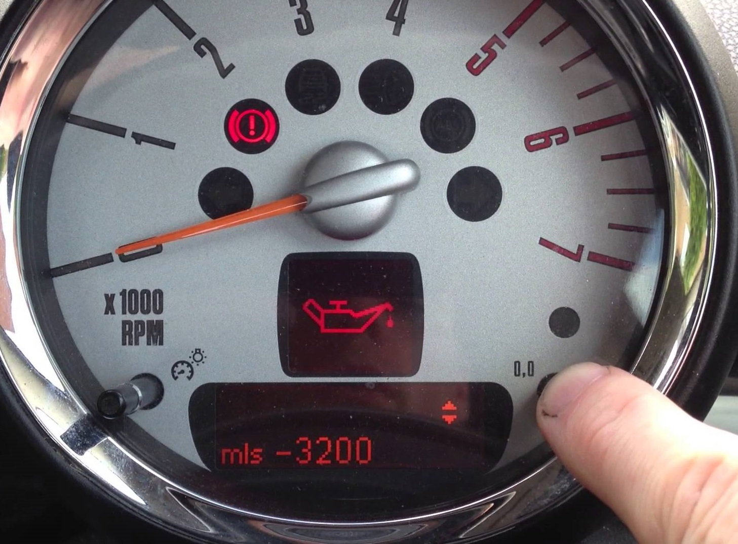 Mini Cooper 2001 to 2006 Warning Lights  Northamericanmotoring
