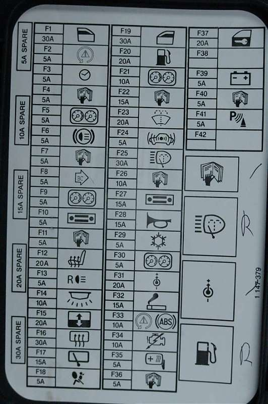2003 MCS dash fuse box diagram 173158 mini cooper 2007 to 2016 fuse box diagram northamericanmotoring Mini Cooper Fuse Box Layout at nearapp.co