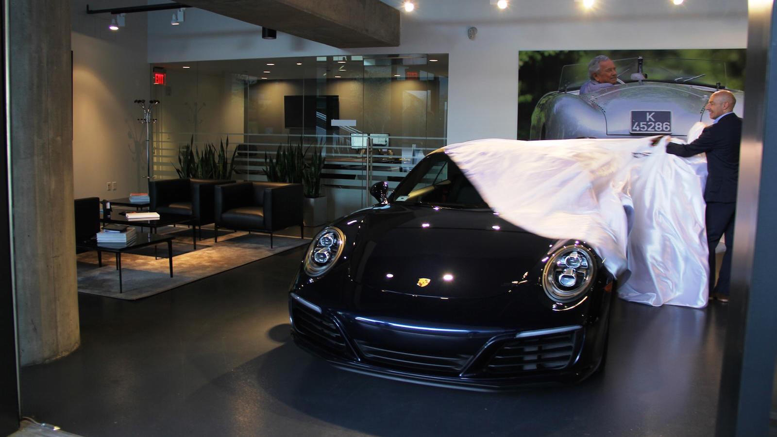 Interview With Head of Porsche Vehicle Delivery
